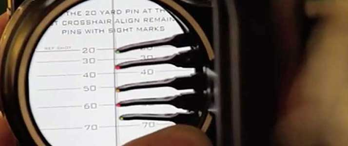 how to set bow sights